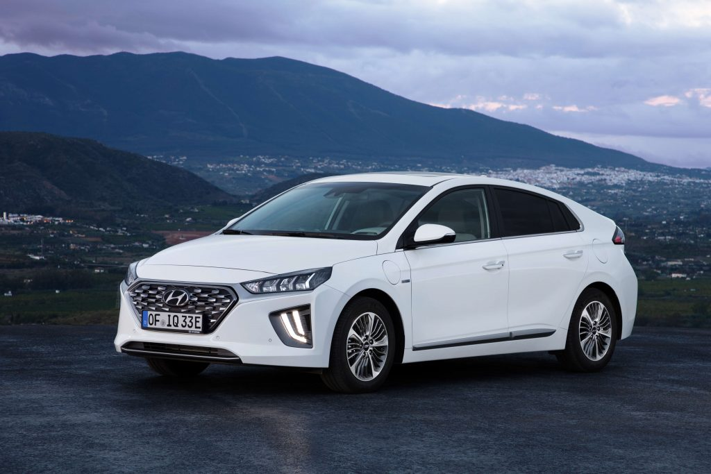 New Hyundai Ioniq plug-in PHEV